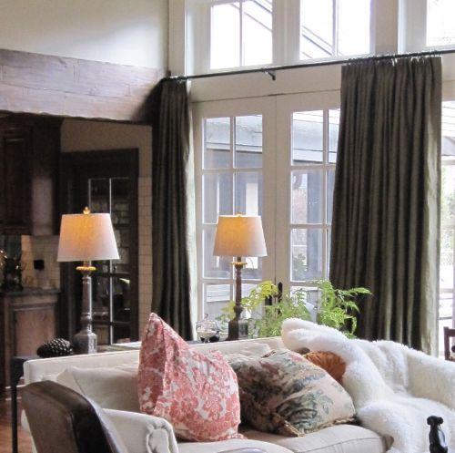 How A Design Came Together For Kc Magazine The Living Room Kansas